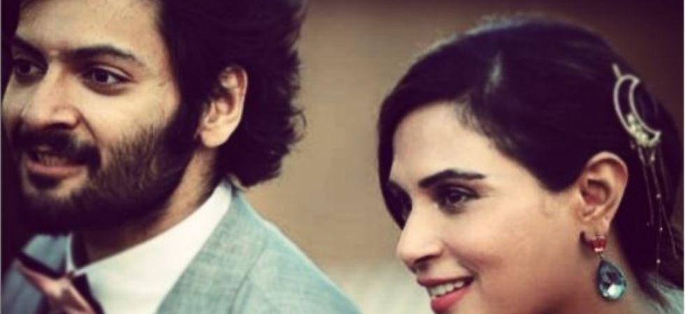Richa Chadha and Ali Fazal  (Pic Courtesy: Instagram)
