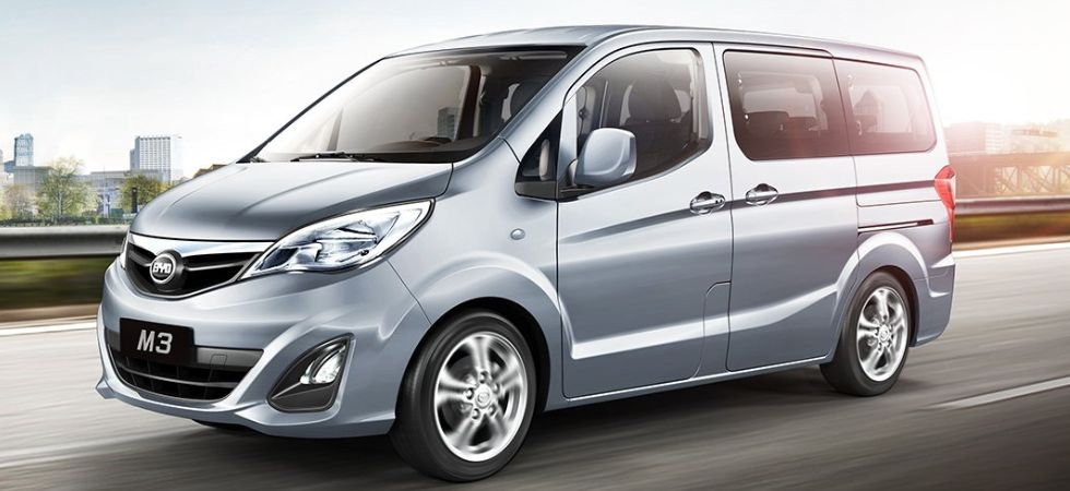 BYD India Launches T3 MPV (Photo Credit: Twitter)