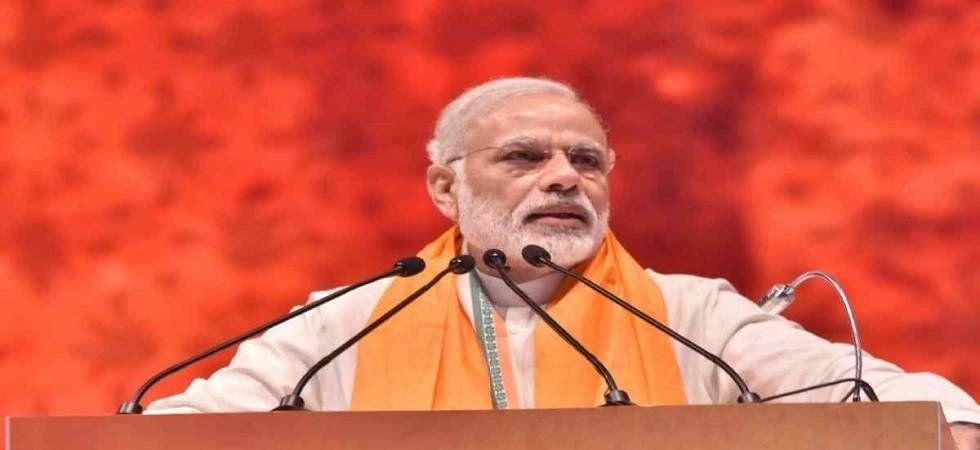 PM Narendra Modi will address a rally in Haryana's Rohtak on Sunday (Image: PTI File)