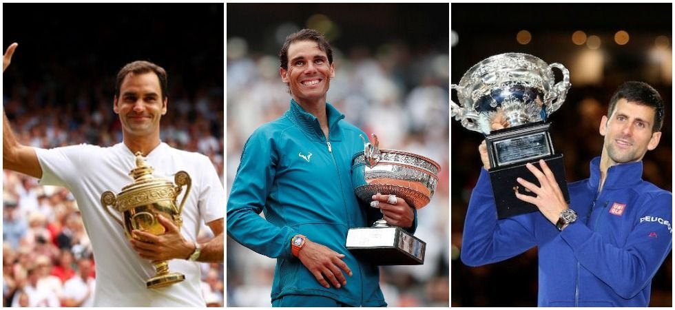 Roger Federer, Rafael Nadal and Novak Djokovic (File Photos)