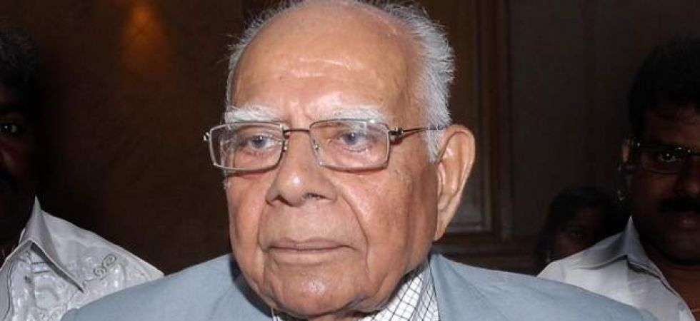 Ram Jethmalani also served as chairman of the Bar Council of India (Image: PTI)