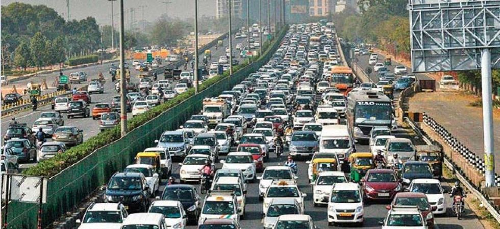 Traffic Jam in New Delhi (File Photo)