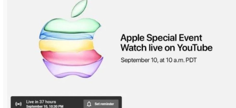 Apple launch event invite (Photo Credit: Apple)