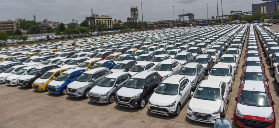 Overall sales of vehicles goes down by 23.55 per cent in August 2019 (Photo Credit: PTI)