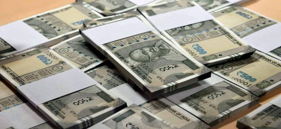 At the interbank foreign exchange the rupee opened at 71.72, then gained further ground and touched a high of 71.58