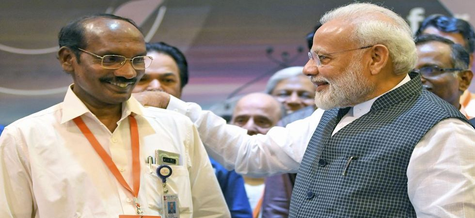 ISRO chief Kailasavadivoo Sivan with Prime Minister Narendra Modi (Photo Source: PTI)