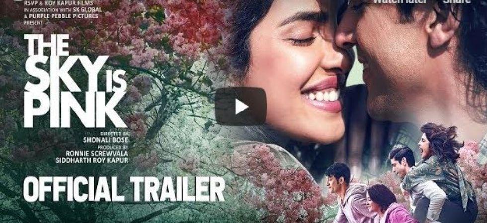 Priyanka Chopra and Farhan Akhtar in The Sky Is Pink trailer! (Pic courtesy:  You Tube/RSVP Movies)