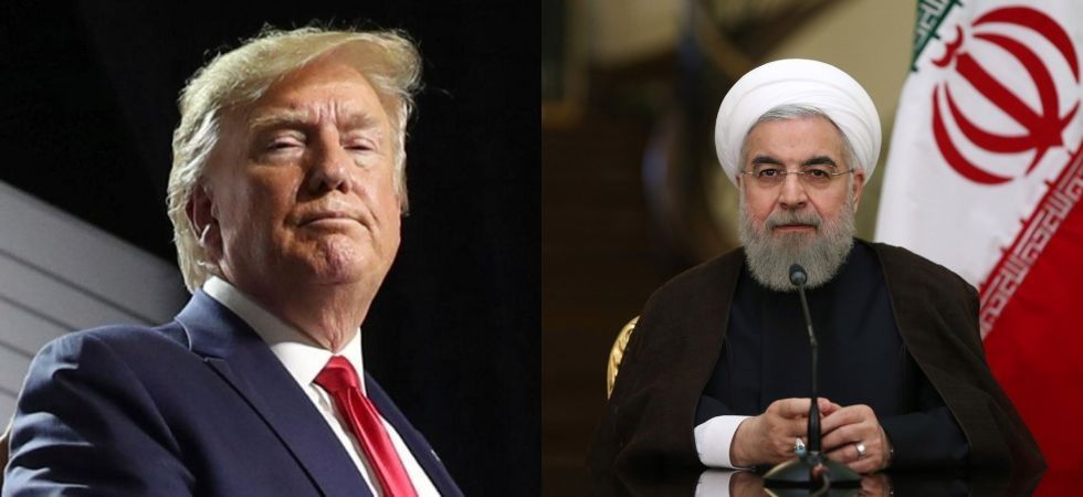 """President Donald Trump is ready to meet his Iranian counterpart Hassan Rouhani without preconditions while maintaining """"maximum pressure"""" on Tehran"""