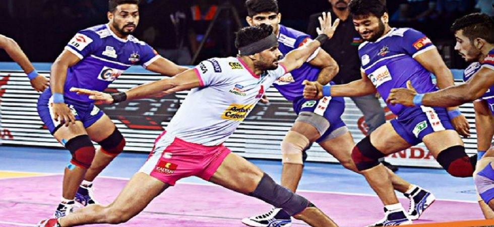 Pro Kabaddi League: Jaipur Squander Lead As Haryana Secure Draw (Image credit: Twitter/ProKabaddi)