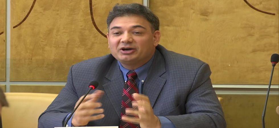 Gilgit-Baltistan Activist Senge H Sering At 42nd UNHRC Session In Geneva (ANI Photo)