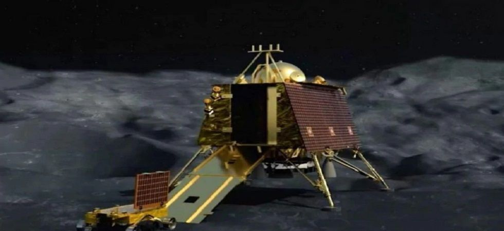 The mission life of the Vikram lander and rover is one Lunar day, which is equal to 14 Earth days. (Photo credit: ISRO)