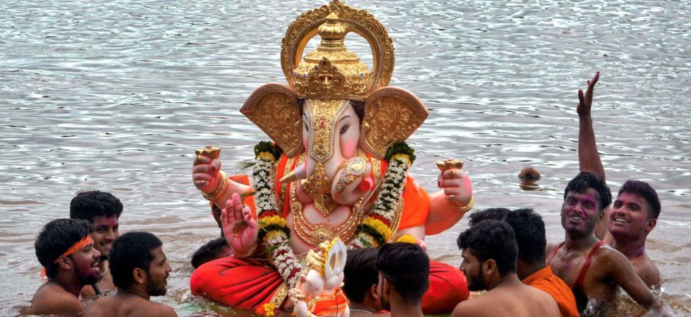 Lord Ganesh, the divine guest, is worshipped with puja and prasad of modaks and other offerings for 10 days. (PTI Photo)