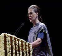 Sonia Gandhi Slams Modi Govt Over Economic Slowdown At AICC Meet
