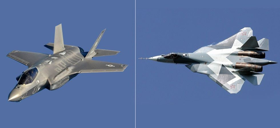 Sukhoi-57 challenges the hegemony of 'Fifth Generation Club'. (PC: Maxim Maksimov (russianplanes.net), US Air Force (Master Sgt. Donald R Allen/dvidshub.net)