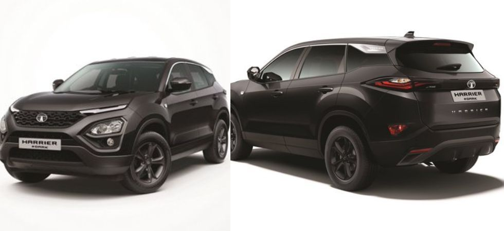 Tata Harrier dark edition (Photo Credit: Twitter/@RotorMouthing)