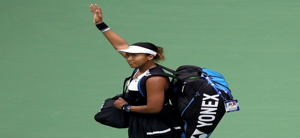 Naomi Osaka announced she would no longer be working with Jermaine Jenkins, who joined her team after her triumph at the Australian Open in January. (Image credit: Twitter)
