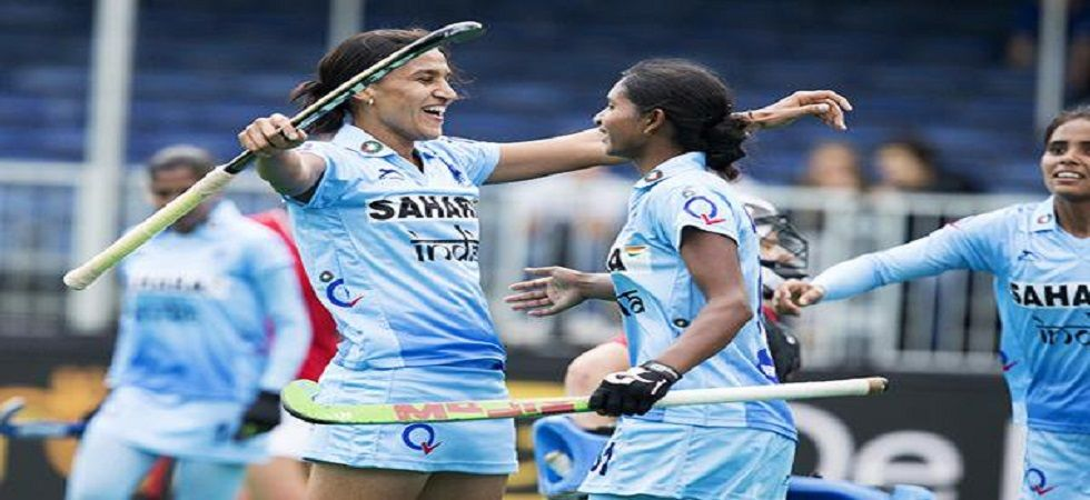 Along with Rani Rampal, Savita and Rajani Etimarpu retained their places in the side following the team's triumph in the Olympic Test Event in Japan recently. (Image credit: Twitter)