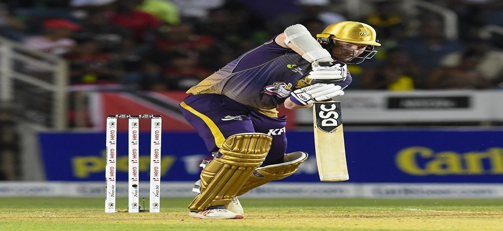 Colin Munro blasted 96 as Trinbago Knight Riders notched up the highest team score in franchise T20 cricket. (Image credit: Getty Images)
