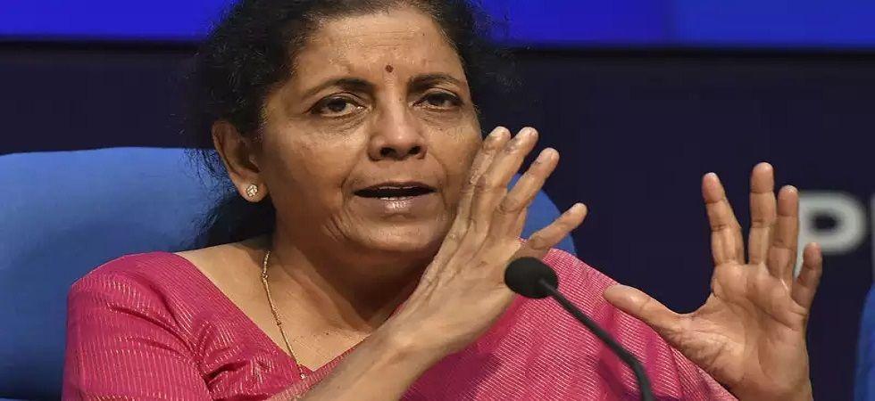 Finance Minister Nirmala Sitharaman (File)
