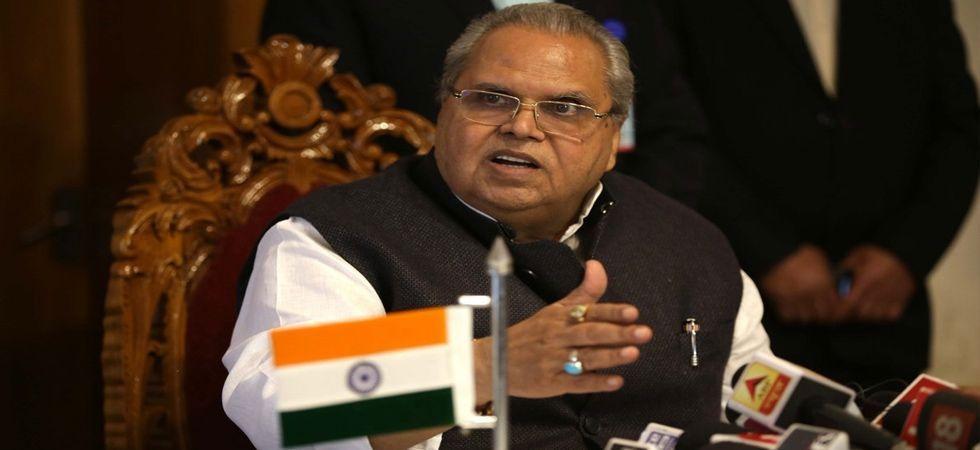 Jammu and Kashmir Governor Satya Pal Malik  (File Photo: IANS)