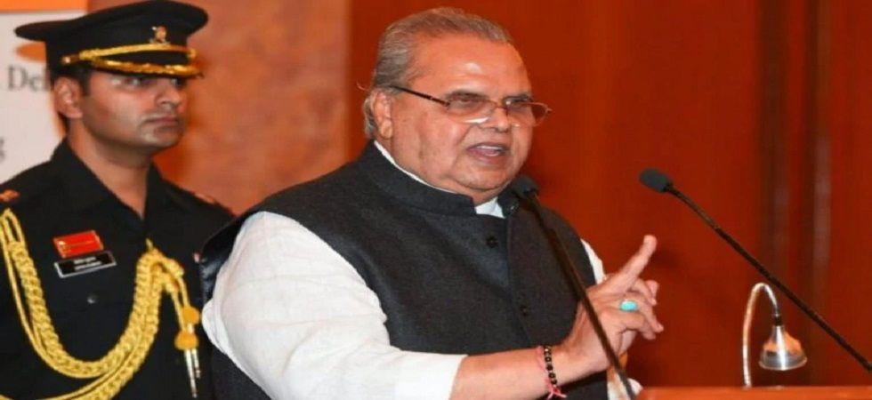 Jammu and Kashmir Governor Satya Pal Malik (PTI file)