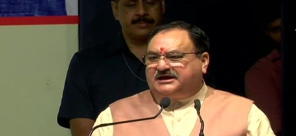 BJP working president JP Nadda said that Schedule Tribe (ST) will be provided political reservation in J-K. (Image Credit: ANI)
