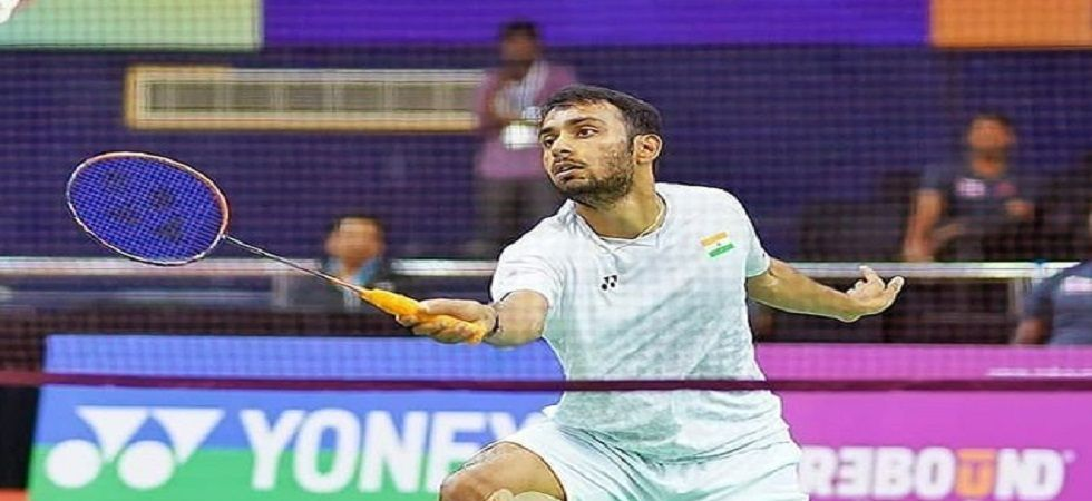 Sourabh Verma recovered from a mid-game slump to beat Sun 21-12 17-21 21-14 in the summit clash which lasted an hour and 12 minutes. (Image credit: Twitter)