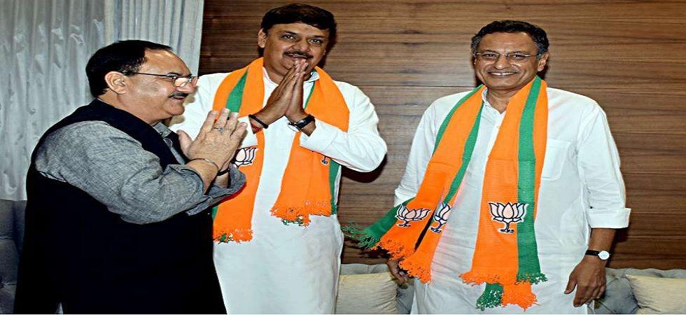 Surendra Singh Nagar, Sanjay Seth recently joined the BJP.