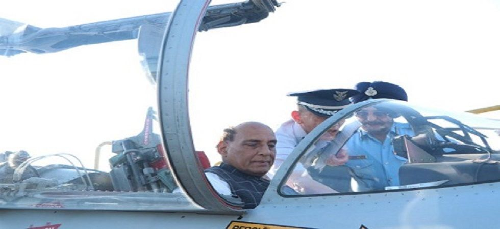Union Defence Minister Rajnath Singh (File)