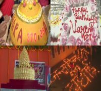 Happy Birthday PM: From 70-Feet Cake To 'Article 370' Laddoo, Modi Fans Celebrate Big Day