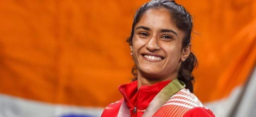 Vinesh Phogat was handed the