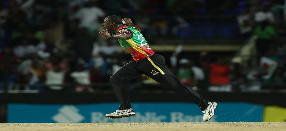 Carlos Brathwaite's exploits in the super over win against Trinbao Knight Riders helped St Kitts and Nevis Patriots stay alive in the Caribbean Premier League. (Image credit: Getty Images)