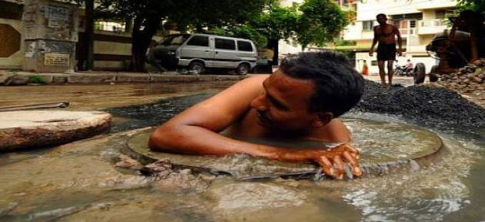 On a recent report that 88 manual scavenging deaths have happened in three years. (File Photo)