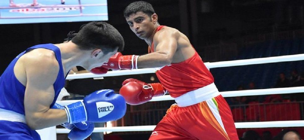 Amit Panghal and Manish Kaushik have ensured India win more than one medal for the first time in the history of the World Boxing Championship. (Image credit: Twitter)