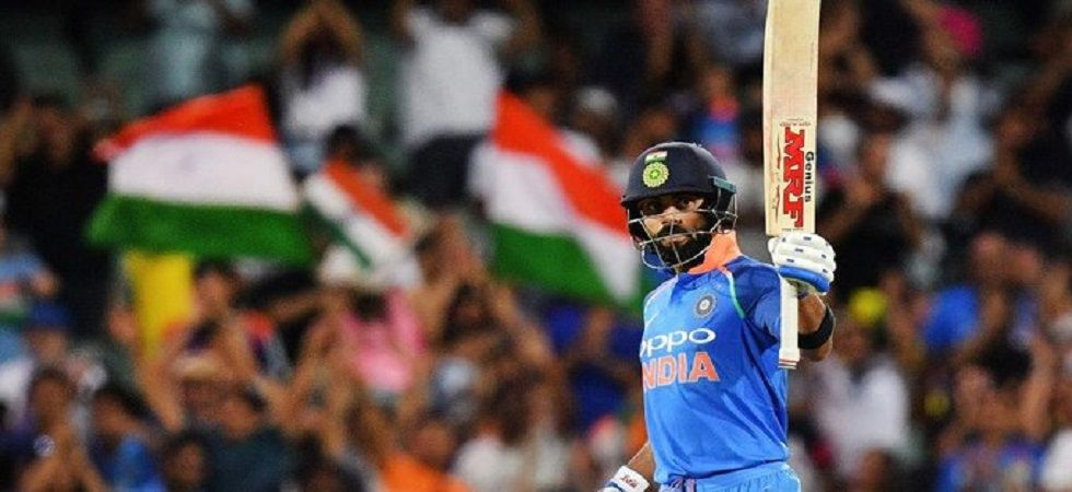 Virat Kohli has hit the most fifties in Twenty20 Internationals as India won by seven wickets against South Africa. (Image credit: ICC Twitter)