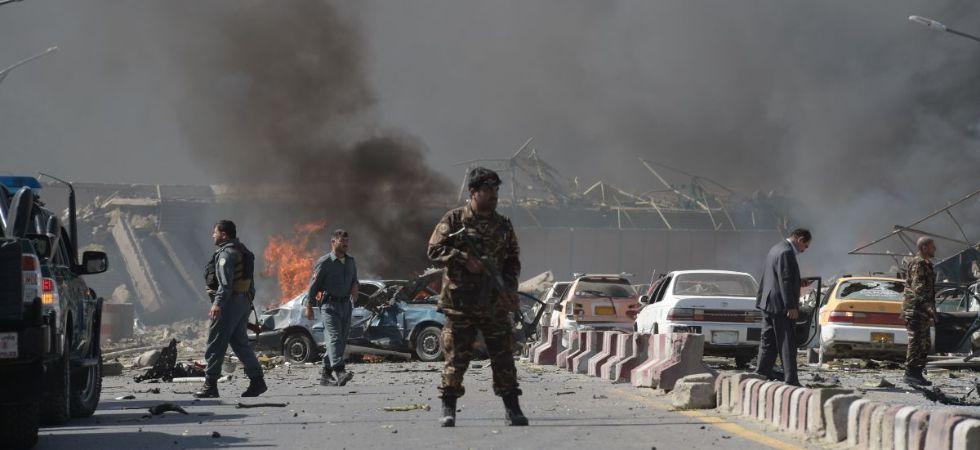 Afghanistan Suicide Bomb Blast (Photo Credit: Twitter)
