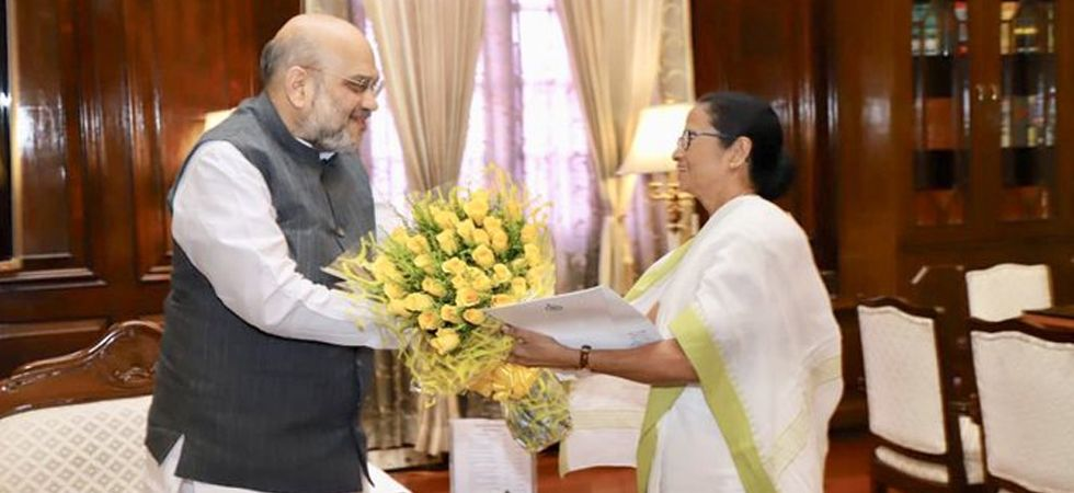 Day after meeting PM Modi, Mamata Banerjee meets Union Home Minister Amit Shah at North Block