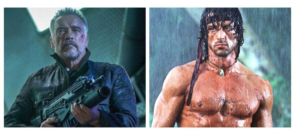 Arnold Schwarzenegger Trolls Stallone Over Small Knife Size In 'Last Blood' (Photo: Twitter)