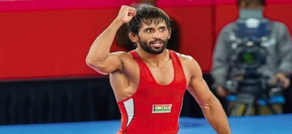Bajrang Punia will be aiming to match Sushil Kumar's feat of winning gold in the World Wrestling Championships. (Image credit: Twitter)