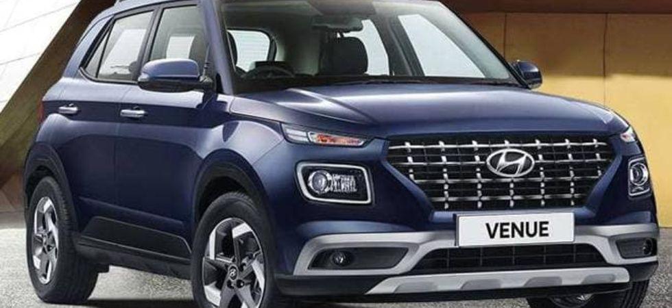 Hyundai Venue's sale in current fiscal (File Photo)