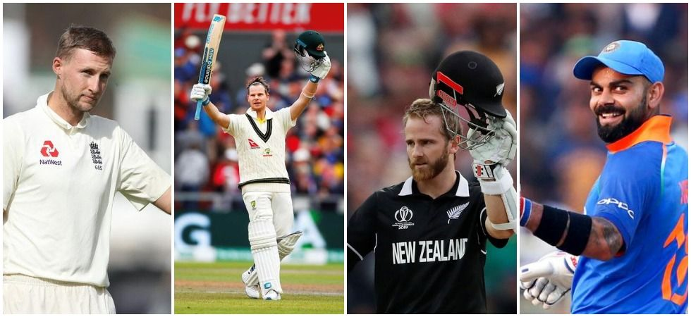 Virat Kohli has been dominating international cricket while Steve Smith's brilliance in Tests and the consistency of Kane Williamson and Joe Root has dominated international cricket in the last five years. (Image credit: News Nation)