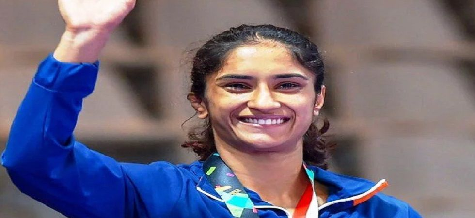 Vinesh Phogat clinched a medal in the World Wrestling Championship for the first time in her career. (Image credit: Twitter)