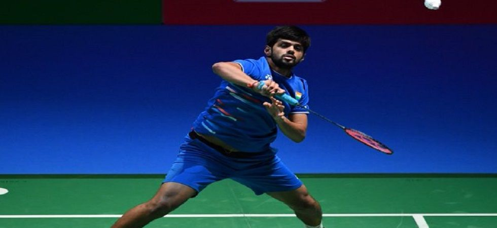 B Sai Praneeth had defeated Anthony Sinisuka Ginting in the World Badminton Championship in Basel but lost in three games at the China Open. (Image credit: Twitter)