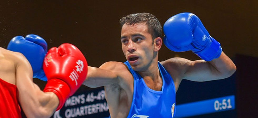 Amit Panghal has also booked his place in next year's Olympic qualifiers. (File Photo: PTI)