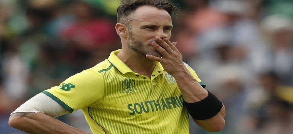 Faf du Plessis missed his connecting flight to India and his cricket kit did not arrive in Dubai and this forced the skipper to blast British Airways on Twitter. (Image credit: Twitter)