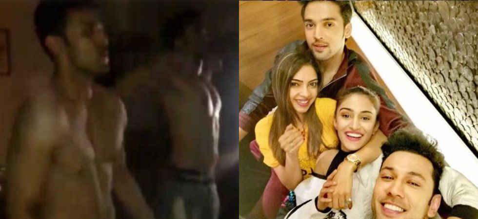 Parth Samthaan and Sahil Anand dance to Desi Boyz. (Image: Instagram)