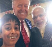 At Howdy Modi, A Kid Got A Selfie That Most World Leaders Wouldn't Get, Know Who Is This 'Lucky Boy'