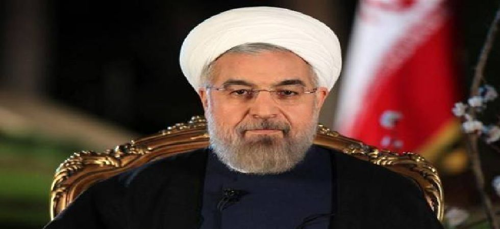 """In his speech, Hassan Rouhani called on the foreign powers to """"stay away"""" from the Gulf (File Photo)"""