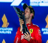 Sebastian Vettel Ends Year-Long Wait For F1 Win With Victory In Singapore Grand Prix
