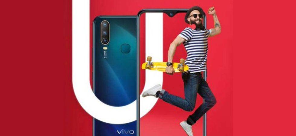 Vivo U10 launched in India (Photo Credit: Twitter/@prathamesh9637)